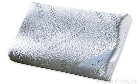 Элитная подушка ортопедическая Traveller от Billerbeck