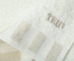 Набор полотенец 2 шт Trussardi Master белый