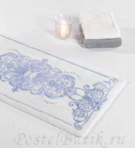 Элитный коврик для ванной Palacio 330 синий от Abyss & Habidecor