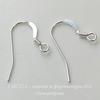 Швензы - крючки плоские, 20х14 мм (цвет - серебро), Silver filled, пара ()
