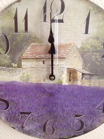 Часы настенные «Поле лаванды» Time Keeper