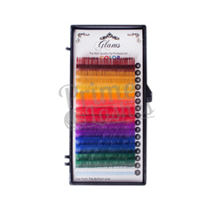 Ресницы цветные Glams палитра