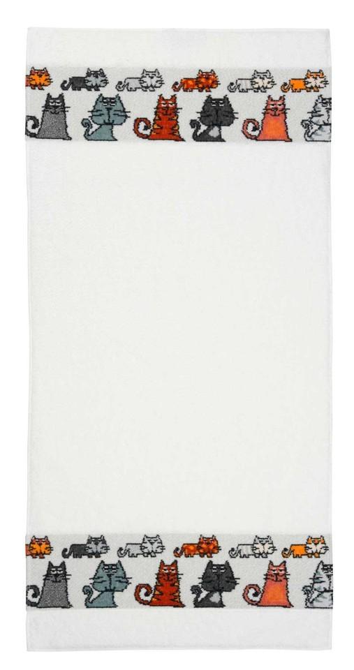 Полотенце 30x50 Feiler Mieze белое