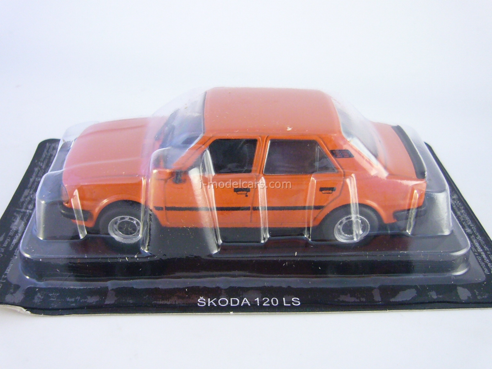 Skoda 120LS red 1:43 DeAgostini Auto Legends USSR #153