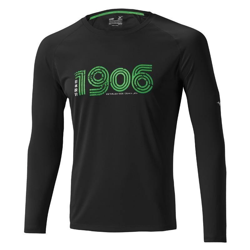 Рубашка беговая MIZUNO DRYLITE 1906 L/S TEE