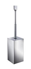 Ершик напольный с крышкой и удлиняющейся ручкой Windisch 89163CR