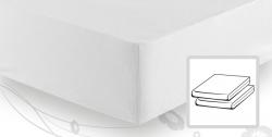 На резинке Простыня трикотажная 90-110x200 Elegante 8000 белая elitnaya-prostinya-na-rezinke-beliy-02-ot-elegante-germaniya.jpg