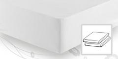 Элитная простыня трикотажная 8000 белая от Elegante