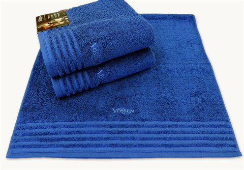 Набор полотенец 2 шт Vossen Vienna Style deep blue