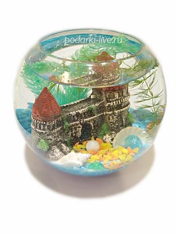 Мини аквариум шар 5 литров