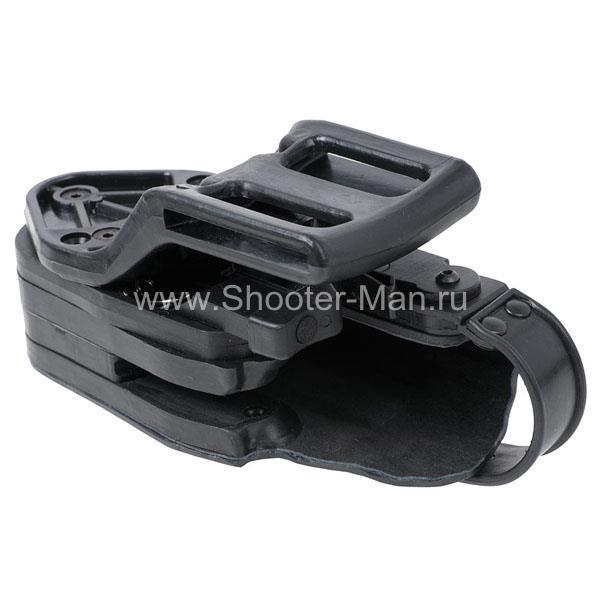 Кобура пластиковая автоматическая для пистолета Ярыгина Стич Профи