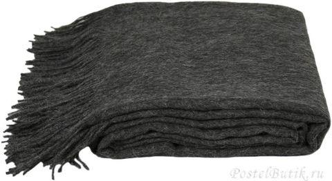 Элитный плед шерстяной Attitude темно-серый от Zoeppritz