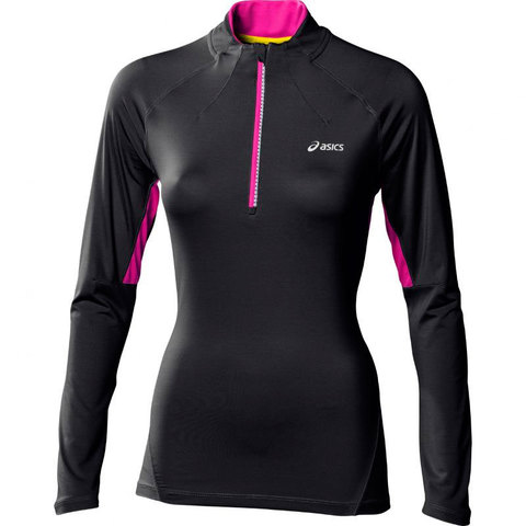 Рубашка Asics Mile LS 1/2 Zip Top женская