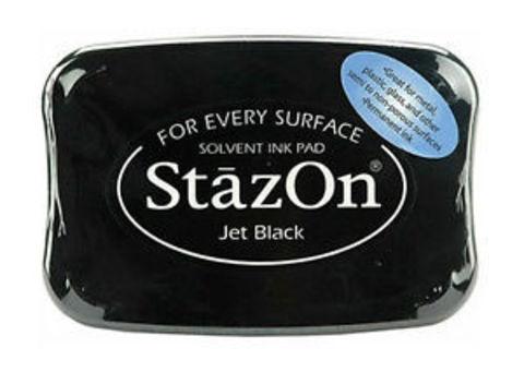 Архивные чернила StazOn Jet Black