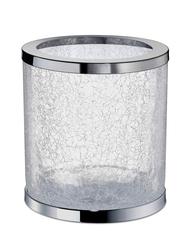 Ведро для мусора без крышки Windisch 89164CR Cracked Crystal