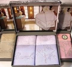 Набор полотенец BAMBU - БАМБУ в размере 30*50 / Maison Dor (Турция)