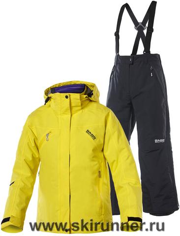 Горнолыжный костюм детский 8848 Altitude Troy Yellow Warmup