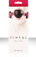 Дышащий кляп Sinful - Ball Gag