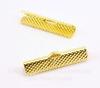 Концевик для лент 30 мм (цвет - золото), 2 штуки