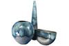 Элитная ваза декоративная Night Tide высокая от S. Bernardo