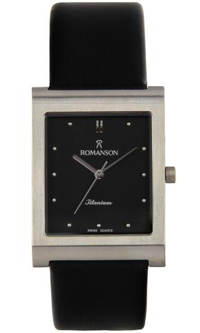 Купить Наручные часы Romanson DL0581 MW BK по доступной цене