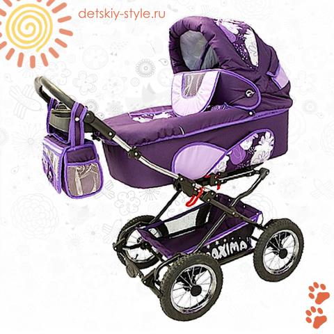 """Коляска Stroller B&E """"Maxima Standart"""" 2в1"""