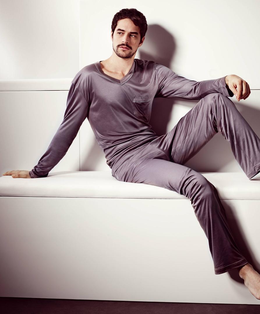 Мужская пижама из модала Zimmerli (Домашние костюмы и пижамы)