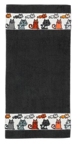 Полотенце 30x50 Feiler Mieze серое