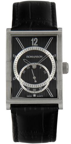 Купить Наручные часы Romanson DL5146N MW BK по доступной цене