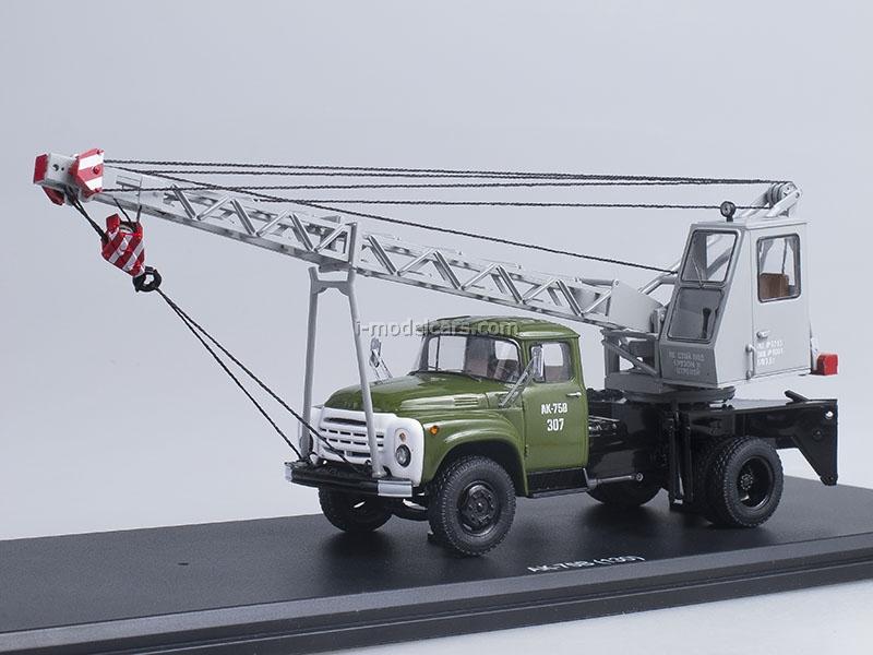 ZIL-130 AK-75V khaki gray 1:43 Start Scale Models (SSM)