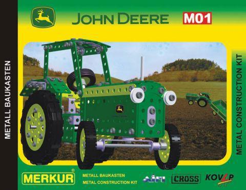 Merkur М-3338 Металлический конструктор JOHN DEERE M01 Set