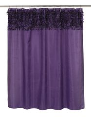 Шторка для ванной 178x183 Carnation Home Fashions Jasmine Purple