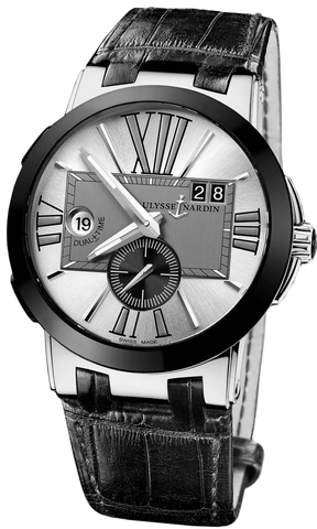 Купить Наручные часы Ulysse Nardin 243-00-421 Executive Dual Time по доступной цене