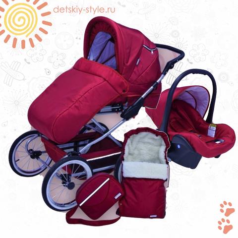 """Коляска Stroller B&E """"Maxima Elite XL"""" 3в1"""