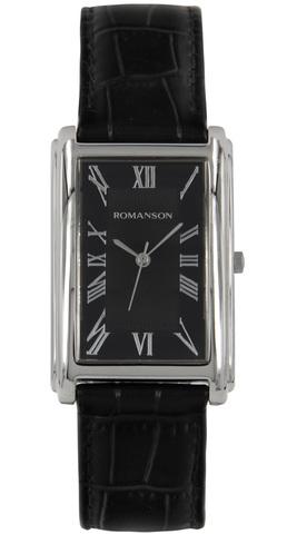 Купить Наручные часы Romanson TL0110 MW BK по доступной цене
