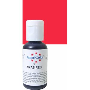 Краска краситель гелевый XMAS RED 121, 21 гр