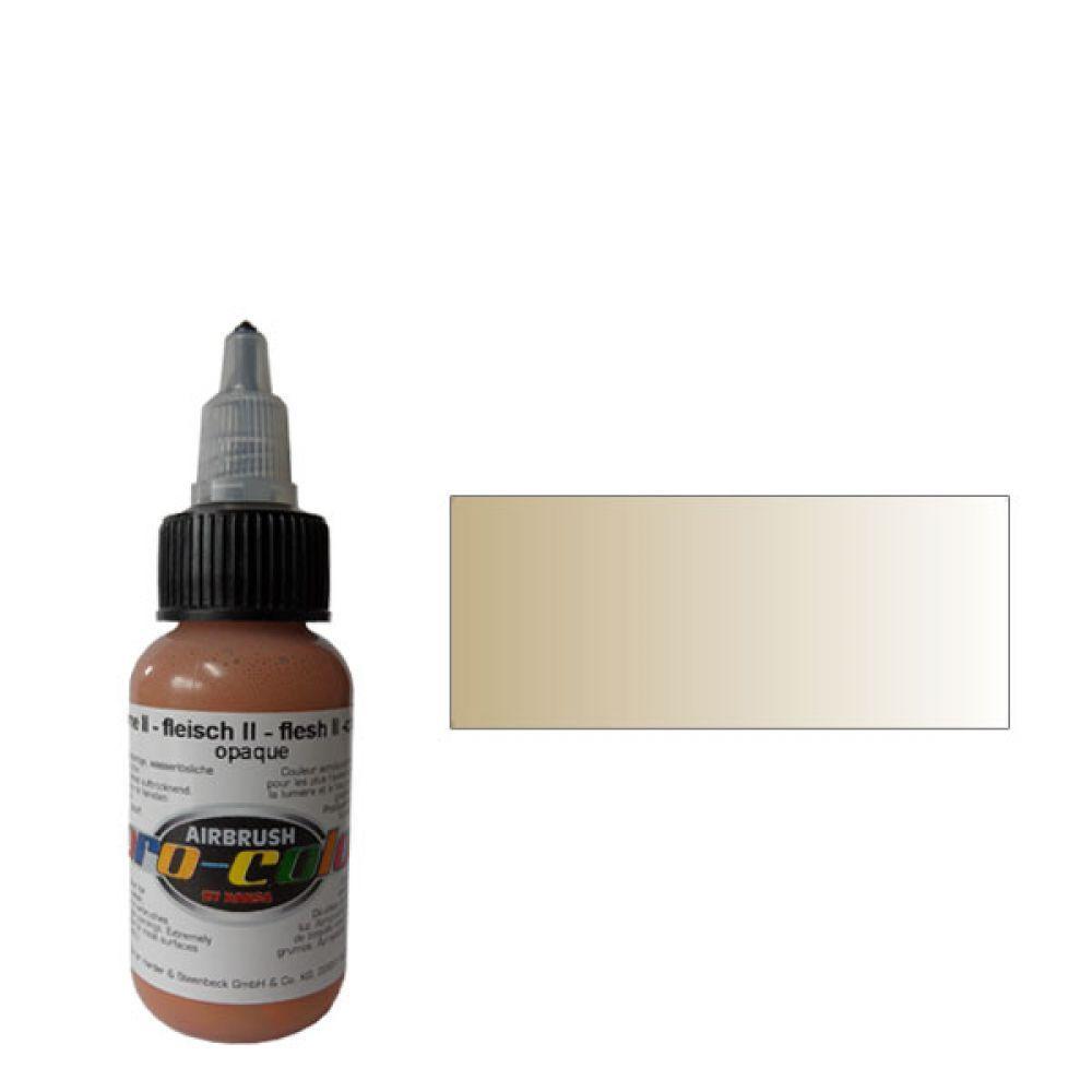 60026 Краска для аэрографии Pro-Color Flash II (ТЕЛЕСНЫЙ №2) 30мл. укрывистый
