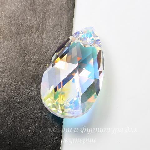 6106 Подвеска Сваровски Капля Crystal AB (16 мм)