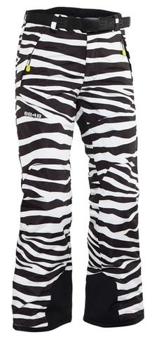 Горнолыжные Брюки 8848 Altitude Cornwall подростковые Zebra Black