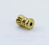 Бусина металлическая трубочка (цвет - античное золото) 6х4 мм , 20 штук