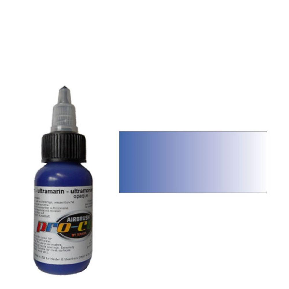 60010 Краска для аэрографии Pro-Color Ultramarine (УЛЬТРАМАРИН) 30мл. укрывистый