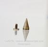 Шип винтовой из 2х частей (цвет - античная бронза) 13х7 мм, 7х6 мм
