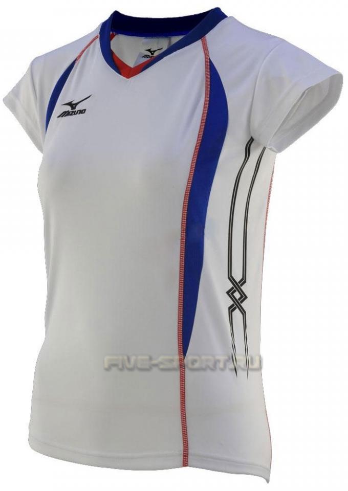 Mizuno Premium W's Cap Sleeve Футболка волейбольная - купить в Five-sport.ru 79TW150 01