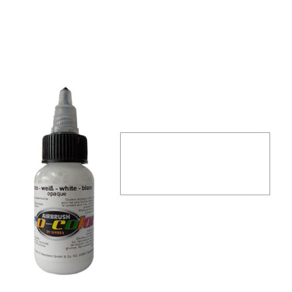 60023 Краска для аэрографии Pro-Color White (БЕЛЫЙ) 30мл. укрывистый