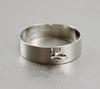 Основа для кольца с петелькой (цвет - античное серебро)