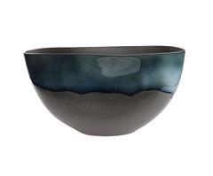 Элитная ваза декоративная Night Tide овальная от S. Bernardo