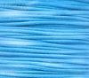 Шнур вощеный, 1 мм, цвет - голубой, примерно 85 м