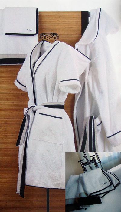 Элитный халат махровый короткий Oslo от Timas
