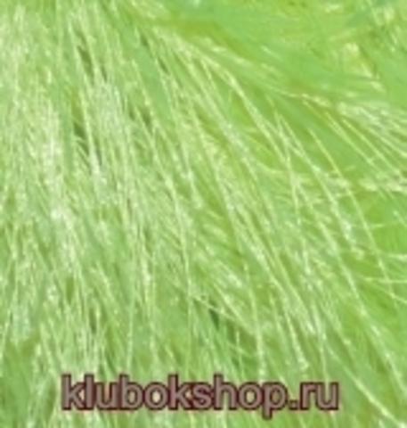 Пряжа Decofur Alize зеленый неон 551