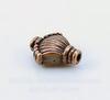"""Бусина металлическая """"Ракушка"""" (цвет - античная медь) 11х9 мм, 10 шт"""